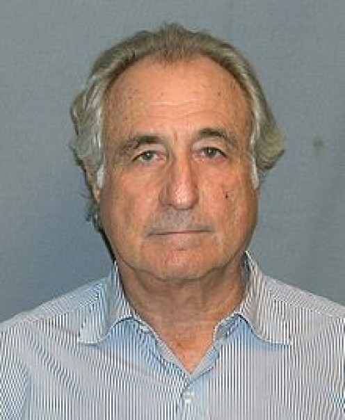 BERNIE MADOFF - ONE OF THE BIGGEST STOCK SWINDLERS (PYRAMID SCHEME) IN AMERICAN HISTORY