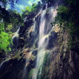 Tumalog Falls near Oslob