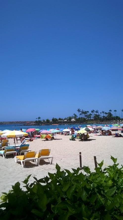Anfi beach Gran Canaria. Canary Islands