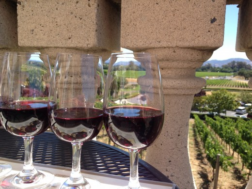 A sunny day in Napa Valley