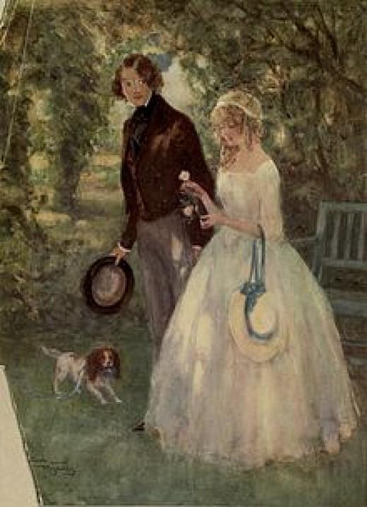 Dora Spenlow is David's first wife.