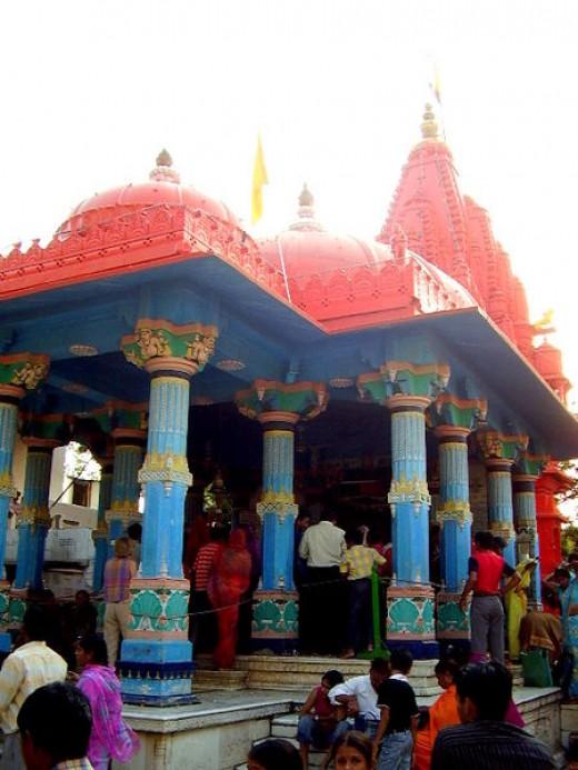 Bramha temple at Pushkar