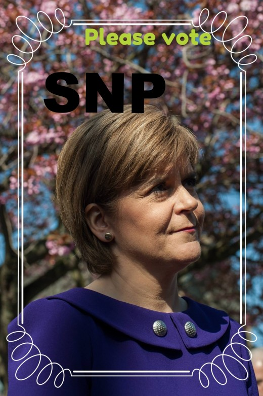 Nicola Sturgeon:  Leader of the SNP and First Minister of Scotland has said Scotland would probably want a new referendum on Scotland's future in the UK if the UK overwhelmingly votes for Brexit in June.