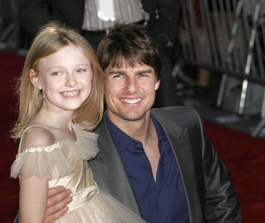 Much Younger Dakota with Tom Cruise