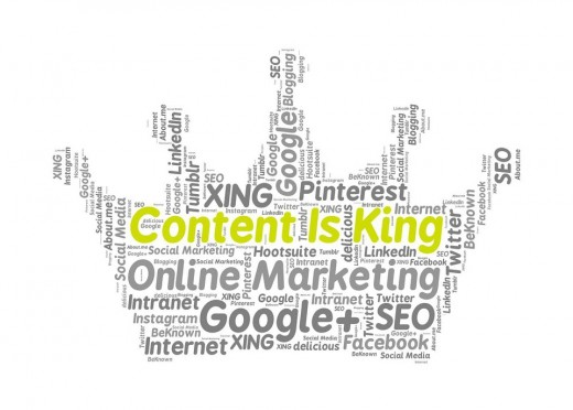 Content is King Pixabay