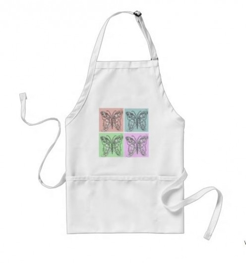 Wear this apron for baking.