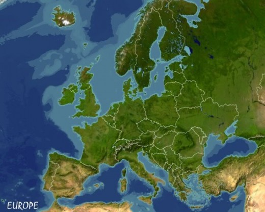 Europe where many people have come from since the UK jointed the European Union.