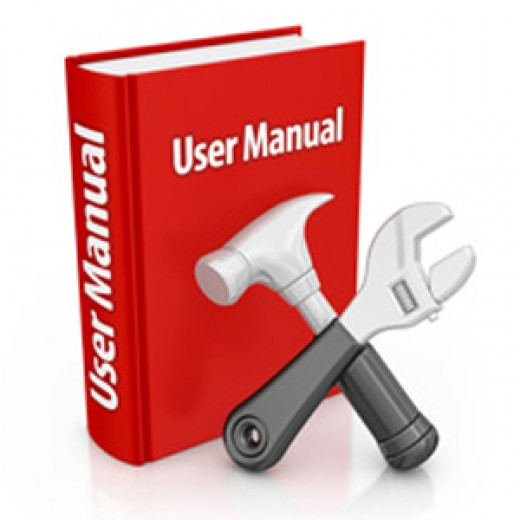 User manuals help save customers' time and prevent the unwanted problems