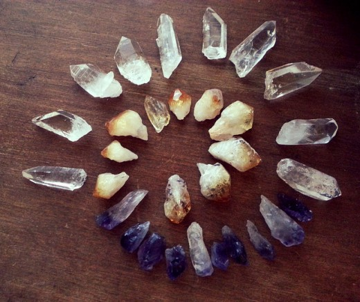 Crystals can be used to enhance many areas of your home and life.
