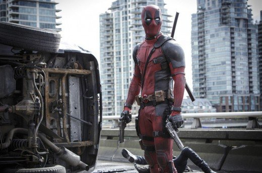 This is what Deadpool looks like.  Is this a costume you would like to make and wear for Halloween this year?