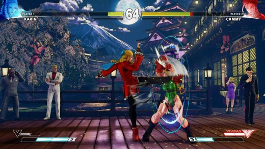 Street Fighter V spells the return of previously seen characters such as Karin (left)