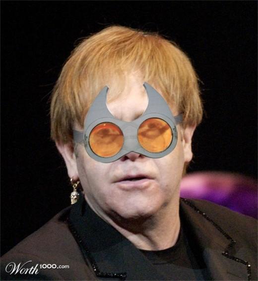 """Elton """"Techno-Batman"""" John"""