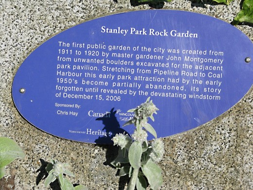 The story of the Stanley Park Rock Garden