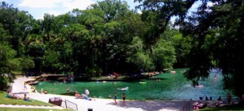 Wekiwa Springs State Park Swimming Area