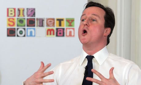 Cameron:  Hoping voters will back him in the in campaign.
