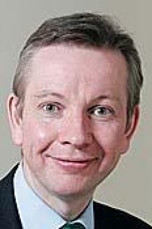 Michael Gove:  is the Attorney General and has attacked Cameron's EU deal and is for the out campaign.  The media yesterday were saying Gove could be sacked for his disagreement with Cameron.