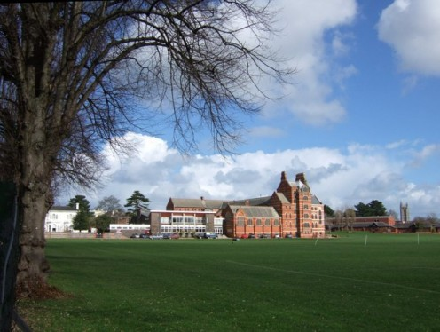 Exeter School; Butterfield's late 19C buildings
