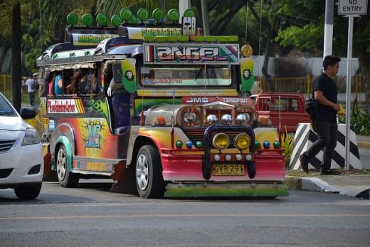 Cebu jeepney by Flickr's shankar s.