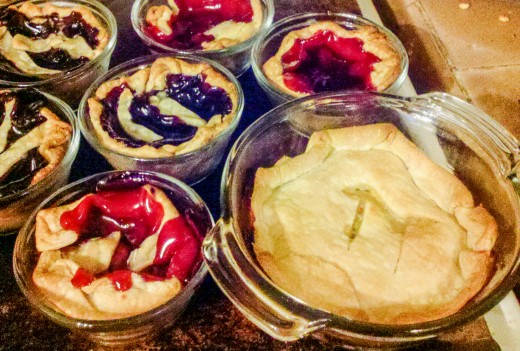 Pi Day Pies: Individual Fruit Pies and Chicken Pot Pies