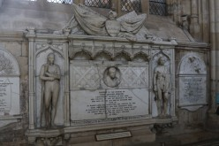 Memorial to John Graves Simcoe in Exeter Cathedral