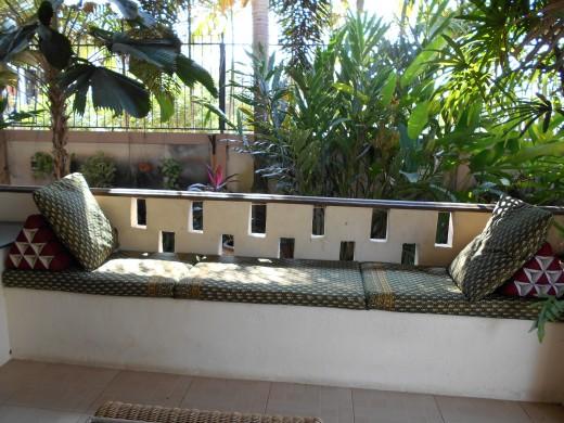 Seat coverings in Thai Batiks