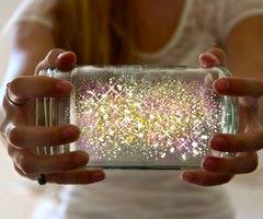 I found this gorgeous Fairy Glow Jar online and had to find out how to make it.