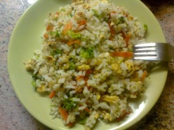 Recipe for Fried Rice with Vegetables