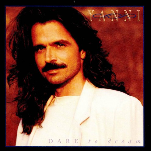 A Photo of the Greek musician and composer Yanni back in 1992.