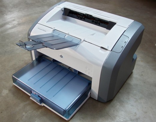 A LaserJet 1020 printer