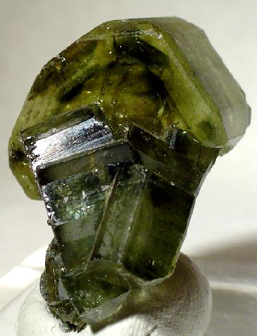 To many people, green apatite is a symbol of new life.