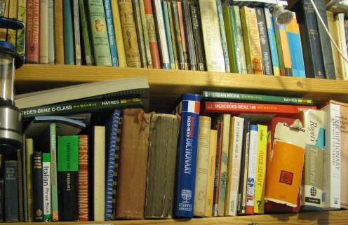 Books, books, books......