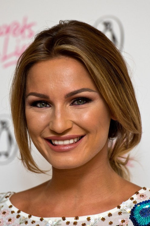 Sam Faiers at the book signing event for her book called Secrets & Lies in 2015.