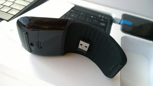 Arc Mouse & BT Dongle