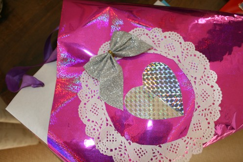 Cute Bling Gift Bag Creation
