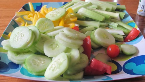Vegetables have numerous health benefits, including helping to control high blood pressure.