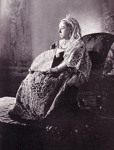 Queen Victoria photographed for her Diamond jubilee, 1897