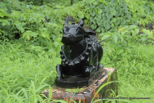Statue of Nandi - Integral part of Shiva Temple.