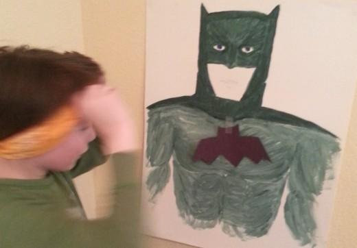 Pin the Bat on Batman