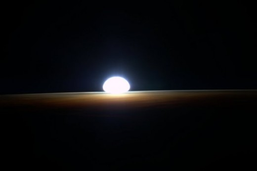 Another Picture Of How Sun Rises In Space