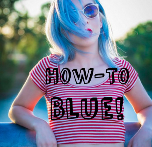 How To Dye Your Hair Blue At Home Without Chemical Dyes
