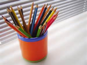 All you need is to grab the colored pencils or crayons.