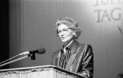 Margot Honecker, Minister for National Education, German Democratic Republic, 1988