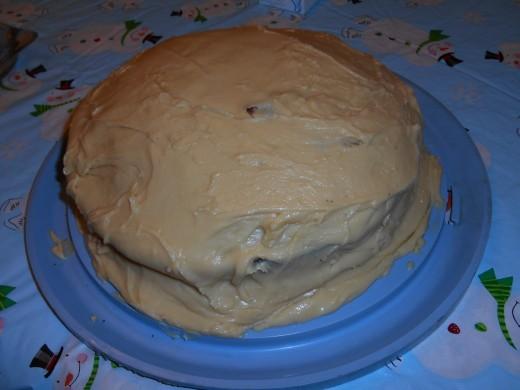 cream devil cake