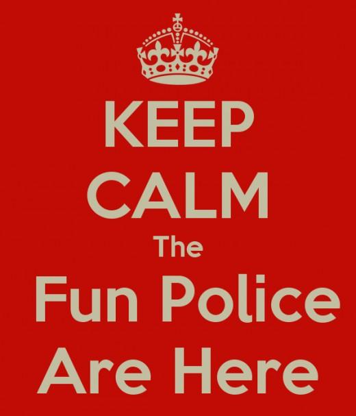 Spoiler; Matt is the fun police