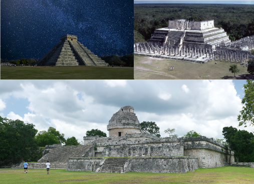 The pyramids and buildings on Chichen Itza are seemingly criss-cross oriented. What can they tell us about the past?