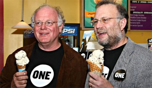 Even the rich support Bernie, Ben and Jerry founders of the ice cream company Ben and Jerry's are both outspoken supporters of Senator Sanders.
