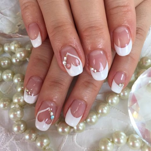 Pearly Whites |  | Nail Art Ideas for Birthday