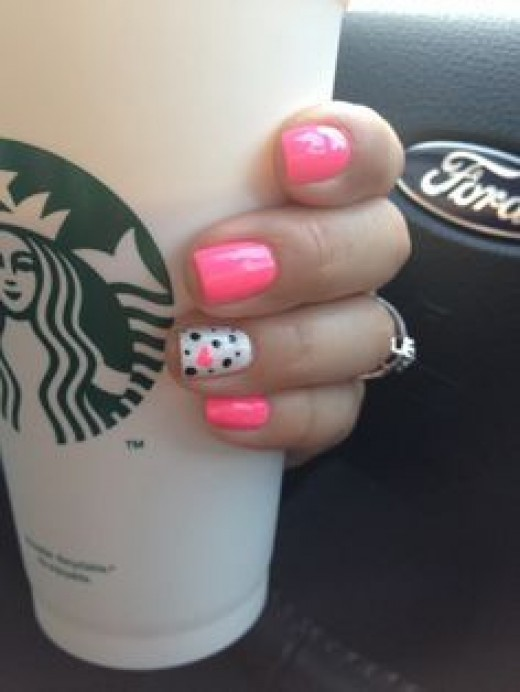 Polka Dots | Nail Art Ideas for Birthday