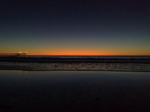 Beautiful San Diego Sunset
