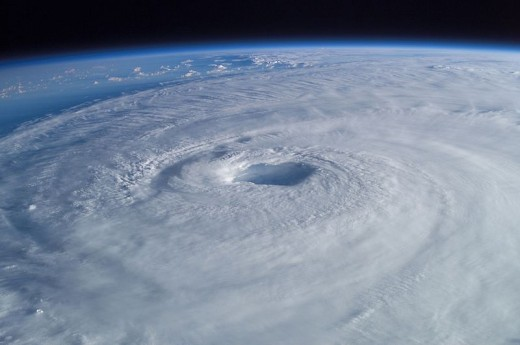 Hurricane Isabel from International Space Station